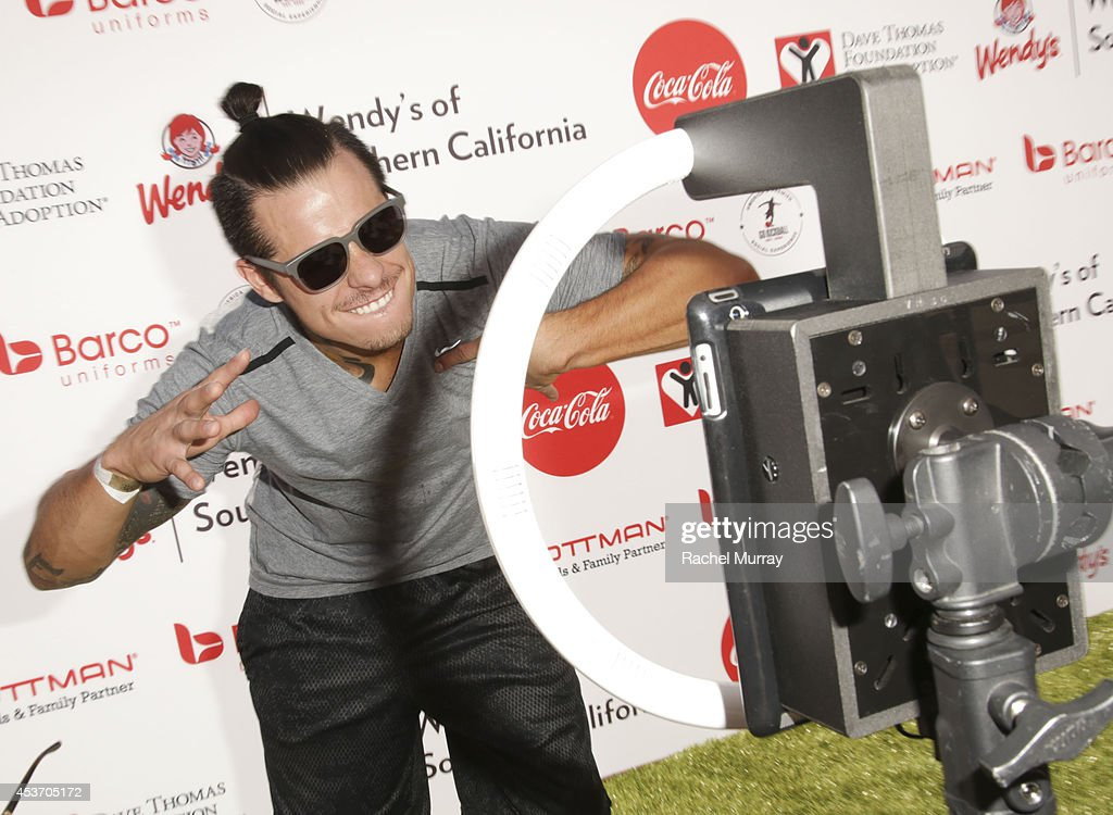 Choreographer Casper Smart attends Kickball For A Home - Celebrity Challenge Presented By Dave Thomas Foundation For Adoption at the University of Southern California on August 16, 2014 in Los Angeles, California.