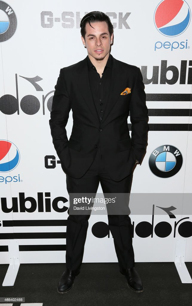Choreographer <a gi-track='captionPersonalityLinkClicked' href=/galleries/search?phrase=Casper+Smart&family=editorial&specificpeople=7596672 ng-click='$event.stopPropagation()'>Casper Smart</a> attends Republic Records Post Grammy Party at 1 OAK on January 26, 2014 in West Hollywood, California.