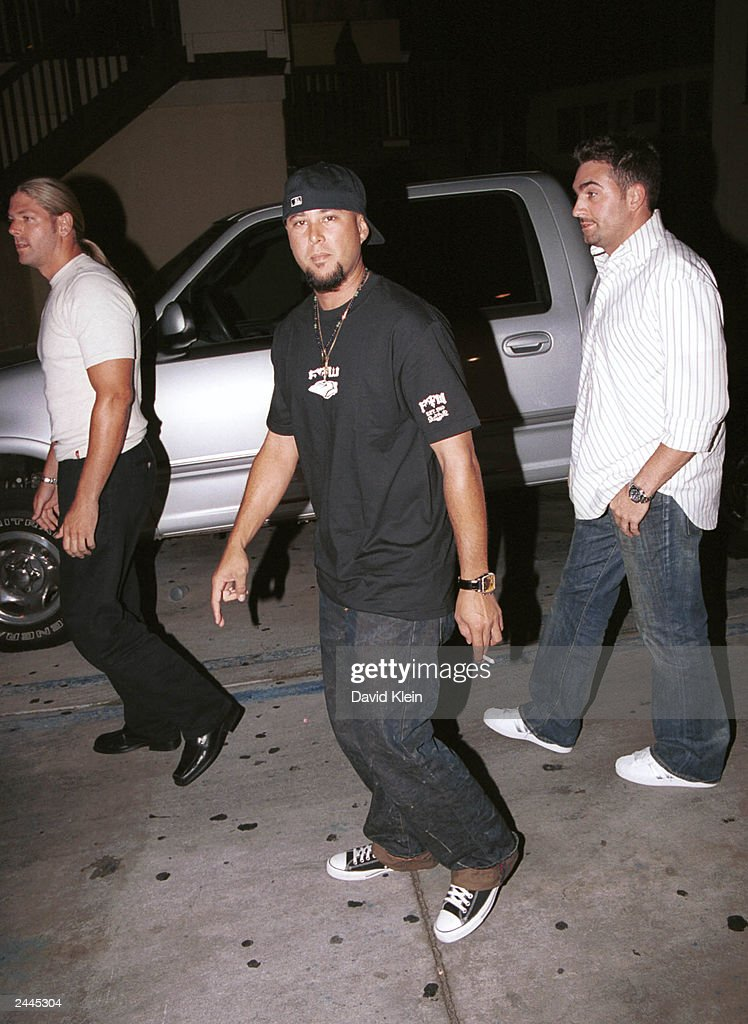 Choreographer Chris Judd poses at the Latin Lounge August 28, 2003 in West Hollywood, California.