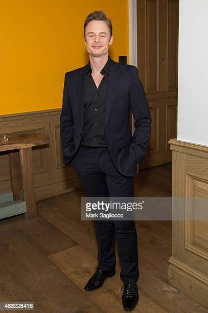 Choreographer Christopher Wheeldon attends the Royal Ballet's 'The Winter Tale' Reception at the Crosby Street Hotel on February 11 2015 in New York...