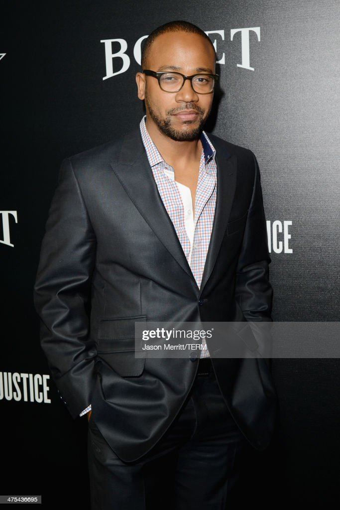 Choreographer <a gi-track='captionPersonalityLinkClicked' href=/galleries/search?phrase=Columbus+Short&family=editorial&specificpeople=536546 ng-click='$event.stopPropagation()'>Columbus Short</a> attends the 7th Annual Hollywood Domino and Bovet 1822 Gala benefiting artists for peace and justice at Sunset Tower on February 27, 2014 in West Hollywood, California.