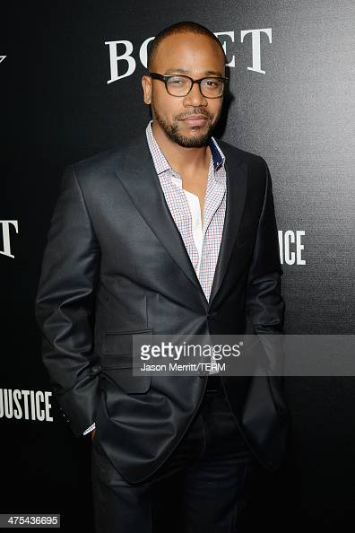 Choreographer Columbus Short attends the 7th Annual Hollywood Domino and Bovet 1822 Gala benefiting artists for peace and justice at Sunset Tower on...