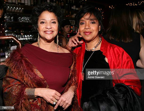 Choreographer Debbie Allen and actress Phylicia Rashad attend the New York Magazine Oscar Viewing Party held inside The Spotted Pig on February 24...