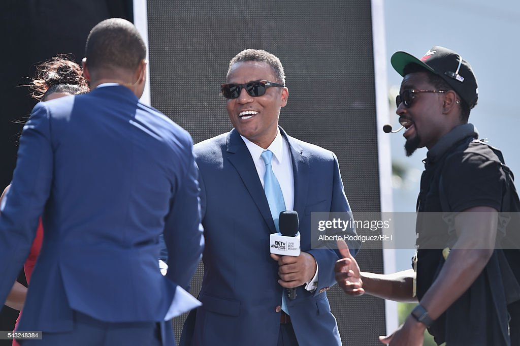Choreographer Frank Gatson (C) attends the 2016 BET Awards at the Microsoft Theater on June 26, 2016 in Los Angeles, California.
