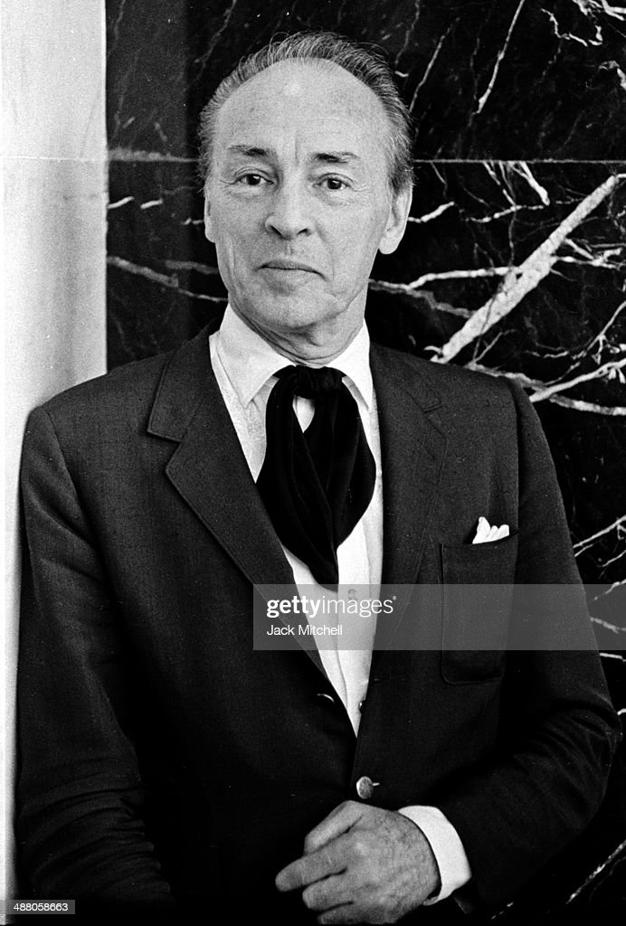Choreographer <a gi-track='captionPersonalityLinkClicked' href=/galleries/search?phrase=George+Balanchine&family=editorial&specificpeople=206890 ng-click='$event.stopPropagation()'>George Balanchine</a> photographed in 1965.