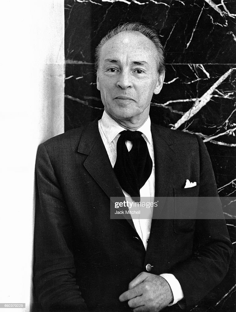 Choreographer George Balanchine photographed in September, 1964.