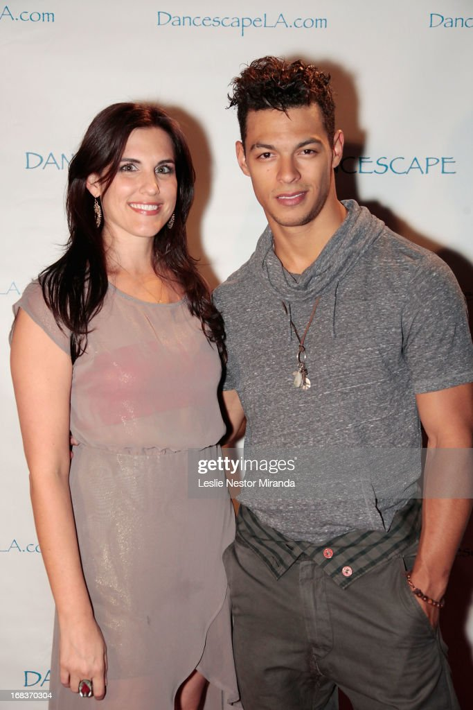 Choreographer Jamie Gregor 'So You Think You Can Dance' winner Chehon WespiTschopp at the 15th Annual Dancescape LA at Club Nokia on May 8 2013 in...