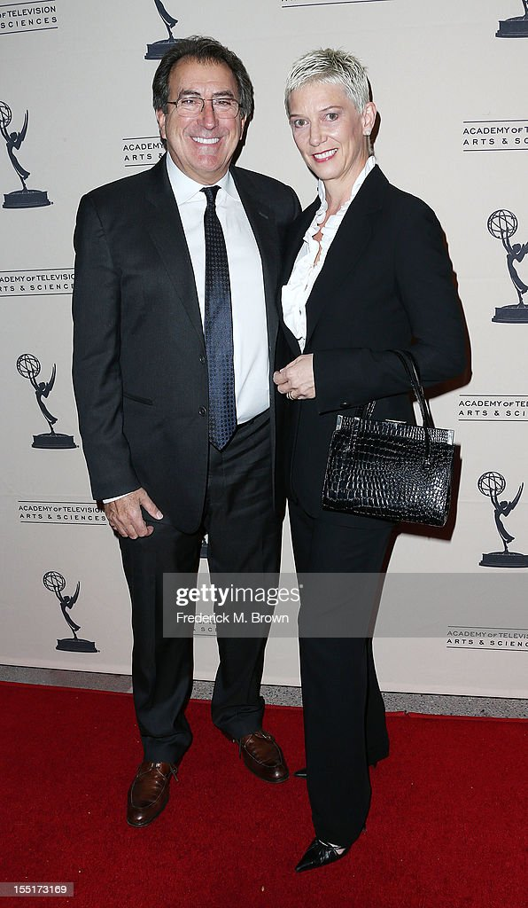 Choreographer Kenny Ortega (L) and dancer Patricia Kelly attend The Academy Of Television Arts & Sciences' Presents 'The Choreographers: Yesterday, Today and Tomorrow at the Leonard H. Goldenson Theatre on November 1, 2012 in North Hollywood, California.