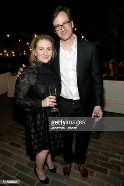 Choreographer Mandy Moore and actor Tom Everett Scott attend Vanity Fair and Barneys New York Private Dinner in Celebration of 'La La Land' at...