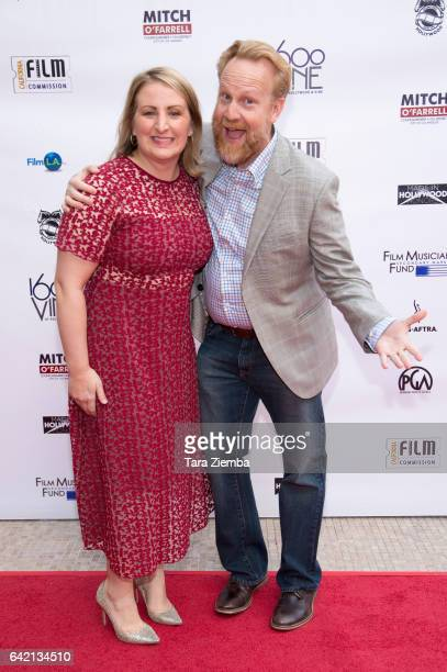 Choreographer Mandy Moore and location manager Robert Foulkes arrives for the 6th Annual Made in Hollywood Honors at Heart of Hollywood Terrace on...