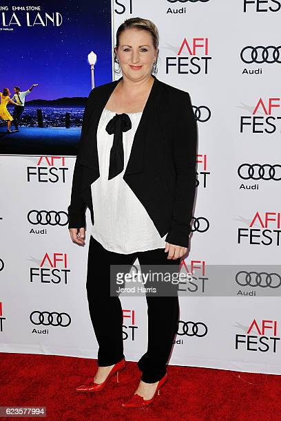 Choreographer Mandy Moore arrives at AFI FEST 2016 Presented By Audi Screening Of Lionsgate's 'La La Land' at TCL Chinese Theatre on November 15 2016...
