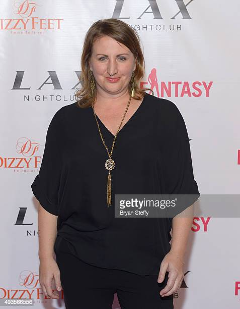 Choreographer Mandy Moore arrives at the 'FANTASY' Show's 2016 'FANTASY After Dark' calendar launch at the Luxor Hotel and Casino on October 20 2015...