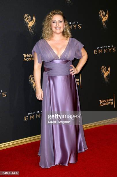 Choreographer Mandy Moore attends the 2017 Creative Arts Emmy Awards at Microsoft Theater on September 9 2017 in Los Angeles California
