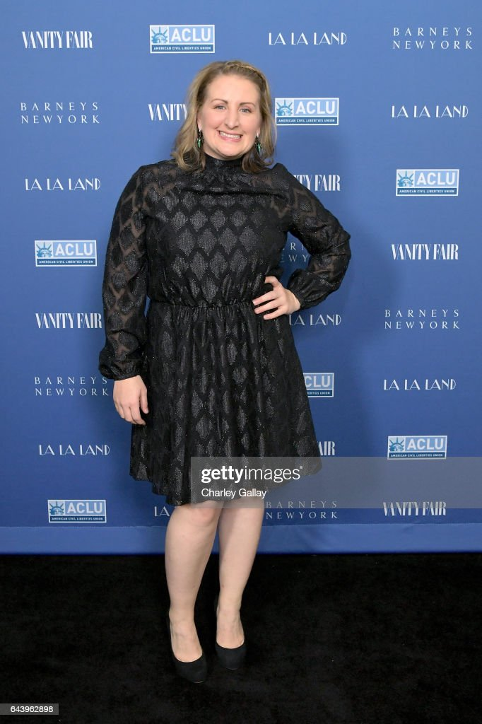 Choreographer Mandy Moore attends Vanity Fair and Barneys New York Private Dinner in Celebration of 'La La Land' at Chateau Marmont on February 22, 2017 in Los Angeles, California.