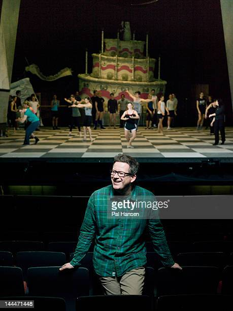 Choreographer Matthew Bourne is photographed for the Sunday Times on February 19 2012 in London England