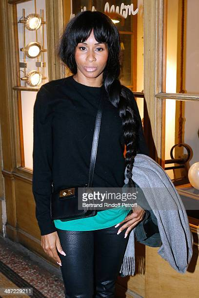 Choreographer Mia Frye attends the 'Charriol' Ephemeral Boutique opening hosted by Nathalie Garcon at Nathalie Garcon store Galerie Vivienne on April...