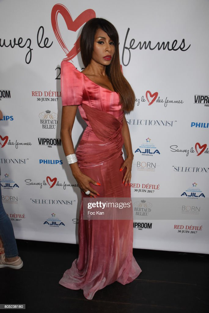 """Red Defile"" : Auction Fashion Show Hosted To Benefit Ajila Association at VIP Room In Paris"