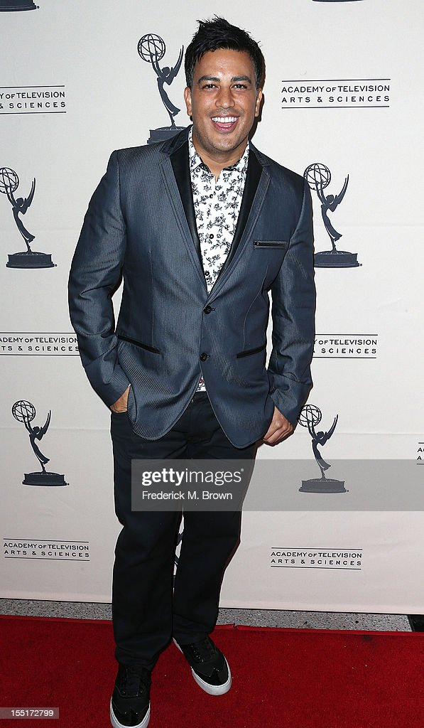 Choreographer Napoleon D' Umo attends The Academy Of Television Arts & Sciences' Presents 'The Choreographers: Yesterday, Today and Tomorrow at the Leonard H. Goldenson Theatre on November 1, 2012 in North Hollywood, California.