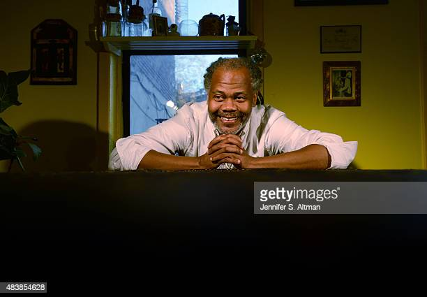 Choreographer Reggie Wilson is photographed for Boston Globe on March 6 2015 in New York City PUBLISHED IMAGE