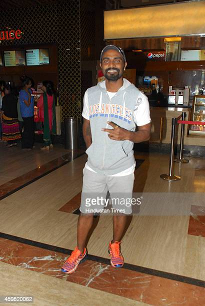 Choreographer Remo D'Souza during the launch of song Radha from film Tevar on November 25 2014 in Mumbai India