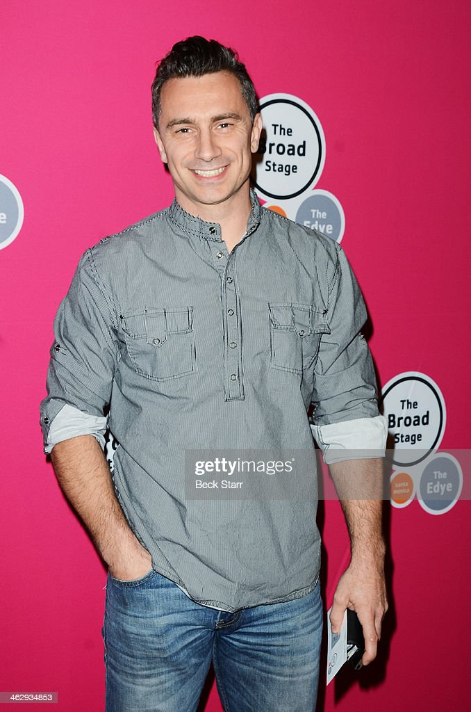 Choreographer Sebastien Stella attends the opening night of 'An Iliad' at The Eli and Edythe Broad Stage on January 15, 2014 in Santa Monica, California.