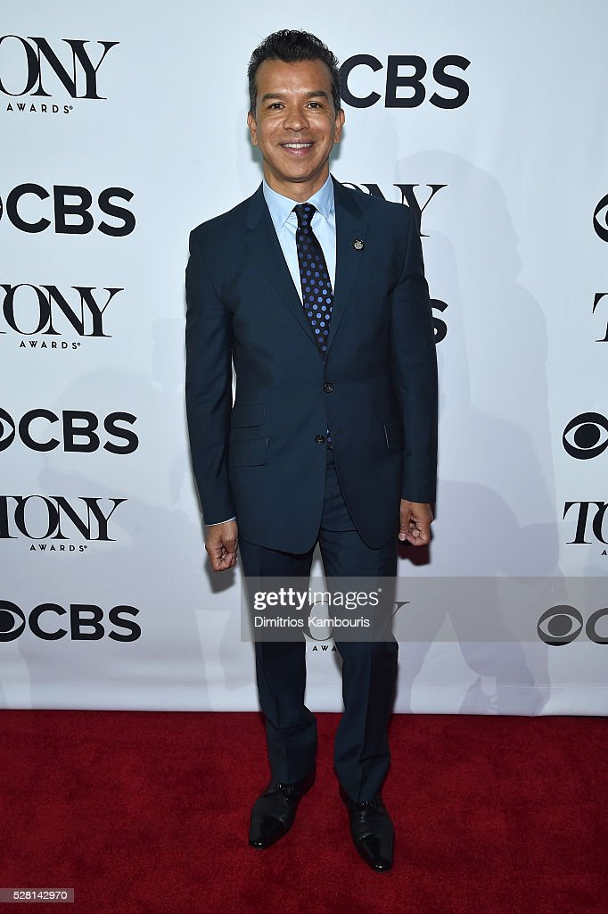 Choreographer Sergio Trujillo attends the 2016 Tony Awards Meet The Nominees Press Reception on May 4, 2016 in New York City.
