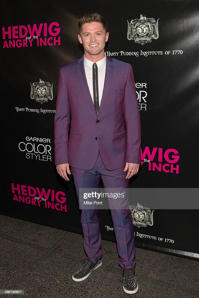 Choreographer Spencer Liff attends the Broadway opening night of 'Hedwig And The Angry Inch' at the Belasco Theatre on April 22, 2014 in New York City.