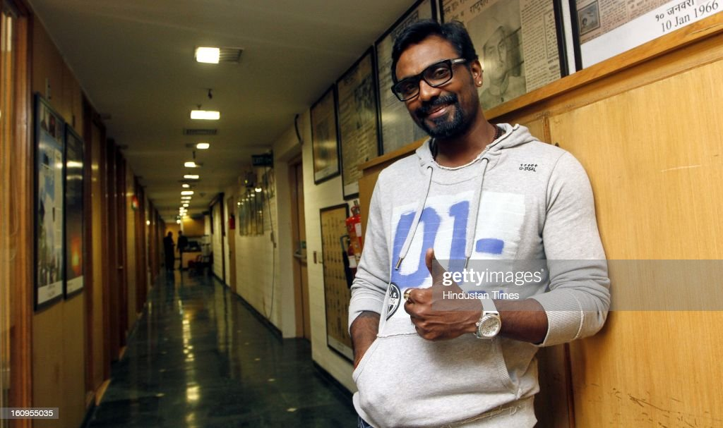 Choreographer turned Director Remo D'Suza during an interview at HT House on February 6, 2013 in New Delhi, India. His upcoming movie Anybody Can Dance is releasing worldwide on February 8, 2013. It is also releasing in Tamil titled as Aadalam Boys Chinnatha Dance.