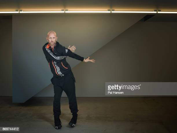 Choreographer Wayne McGregor is photographed for the Observer on July 10 2017 in London England