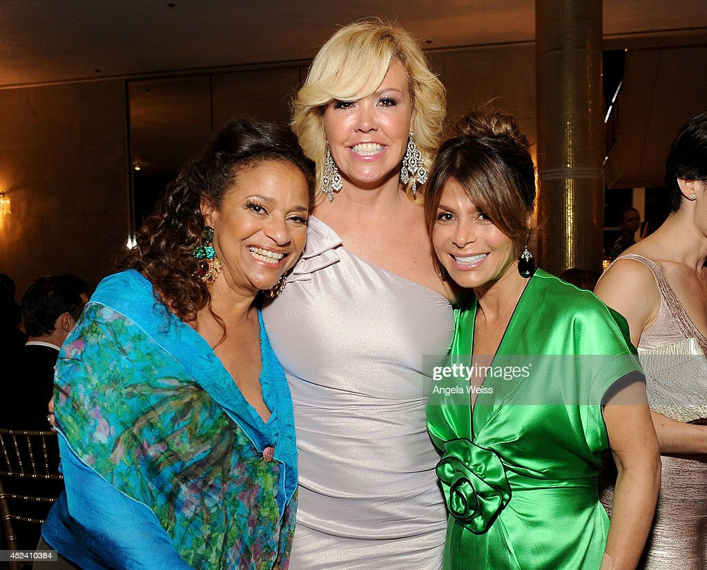 Choreographers <a gi-track='captionPersonalityLinkClicked' href=/galleries/search?phrase=Debbie+Allen&family=editorial&specificpeople=210660 ng-click='$event.stopPropagation()'>Debbie Allen</a>, Mary Murphy and Paula Abdul attend Dizzy Feet Foundation's Celebration Of Dance Gala at The Music Center on July 19, 2014 in Los Angeles, California.
