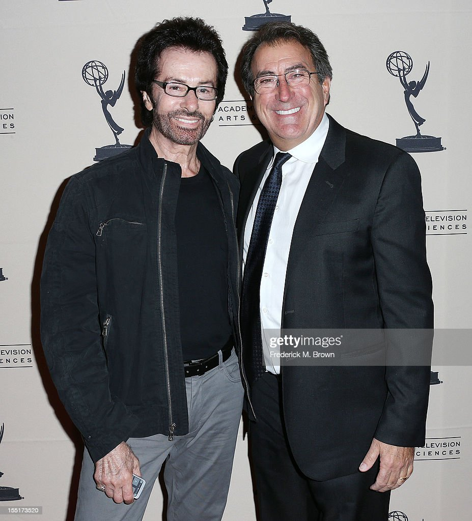 Choreographers George Chakiris (L) and Kenny Ortega attend The Academy Of Television Arts & Sciences' Presents 'The Choreographers: Yesterday, Today and Tomorrow at the Leonard H. Goldenson Theatre on November 1, 2012 in North Hollywood, California.