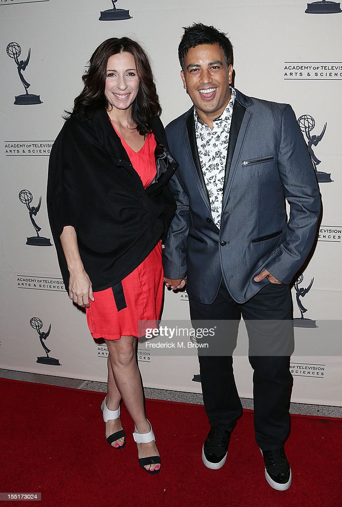 Choreographers Tabitha D'Umo (L) and Napoleon D'Umo attend The Academy Of Television Arts & Sciences' Presents 'The Choreographers: Yesterday, Today and Tomorrow at the Leonard H. Goldenson Theatre on November 1, 2012 in North Hollywood, California.