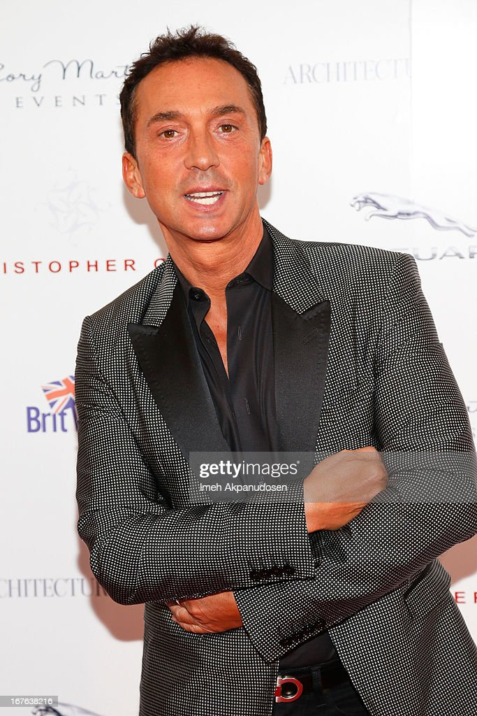 Choreographer/television personality <a gi-track='captionPersonalityLinkClicked' href=/galleries/search?phrase=Bruno+Tonioli&family=editorial&specificpeople=742704 ng-click='$event.stopPropagation()'>Bruno Tonioli</a> attends the 7th Annual Britweek: BritWeek Design Icon Award Presentation at Christopher Guy West Hollywood Showroom on April 26, 2013 in West Hollywood, California.