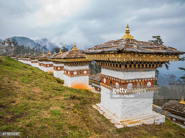 Chortens in Bhutan