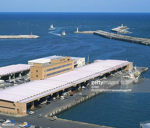 Choshi harbor,  Chiba,  Tokyo Prefecture,  Japan