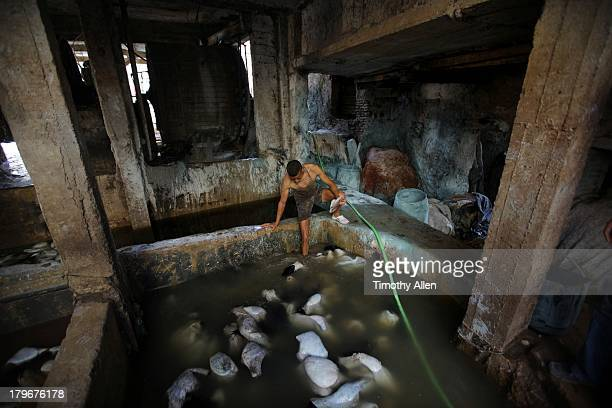 wells tannery guys Mdg : bangladesh : tannery at zigatola in dhaka  among the rickshaws,  barefoot men push carts piled with grey-blue skins  exceeding statutory  maximum levels are entering the water and poisoning hazaribagh's wells.