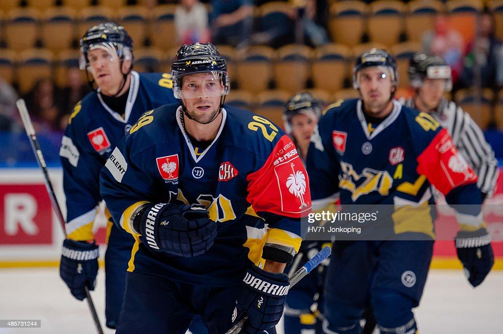 HV71 Jonkoping v SonderjyskE Vojens - Champions Hockey League