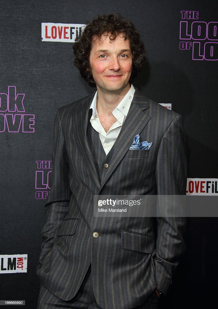 Chris Addison attends 'The Look Of Love' UK premiere at Curzon Soho on April 15, 2013 in London, England.
