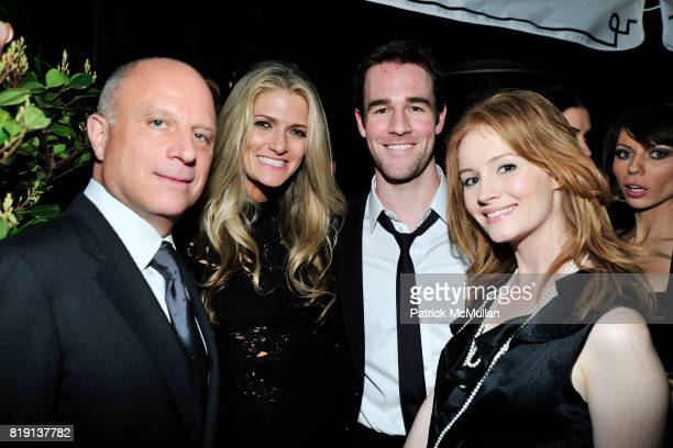 Chris Albrecht Montana Coady James Van Der Beek Kimberly Brook attend NICOLAS BERGGRUEN's 2010 Annual Party at the Chateau Marmont on March 3 2010 in...