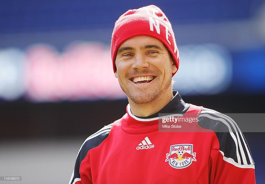 <a gi-track='captionPersonalityLinkClicked' href=/galleries/search?phrase=Chris+Albright&family=editorial&specificpeople=178253 ng-click='$event.stopPropagation()'>Chris Albright</a> #3 of the New York Red Bulls looks on during an open practice on March 15, 2010 at Red Bull Arena in Harrison, New Jersey.