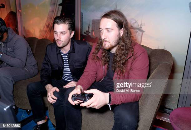 Chris Alderton from The Amazons attends the Destiny 2 launch event on PlayStation 4 Available from Wednesday 6th September 2017 #Destiny2 at Mondrian...