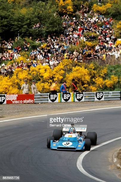 Chris Amon Matra MS120D Grand Prix of France Charade Circuit 02 July 1972