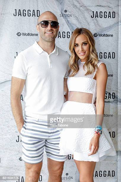 Chris and Bec Judd attend Portsea Polo on January 14 2017 in Melbourne Australia
