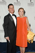 Chris and Gretchen Wayne arrive at the 22nd Annual Odyssey Ball a major fundraiser for the John Wayne Cancer Insitute at the Beverly Hilton Hotel...