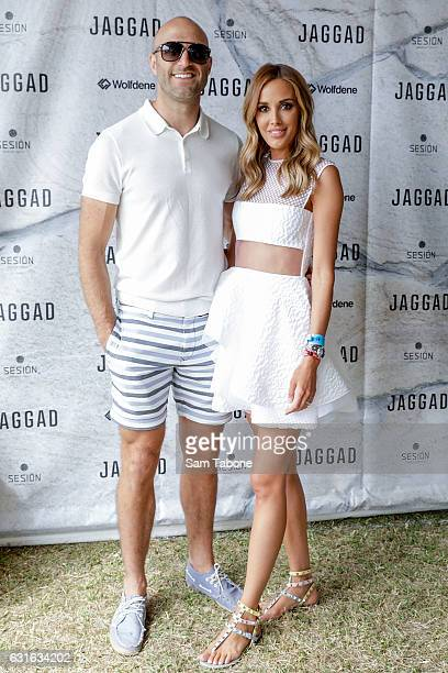 Chris and Rebecca Judd attend Portsea Polo on January 14 2017 in Melbourne Australia