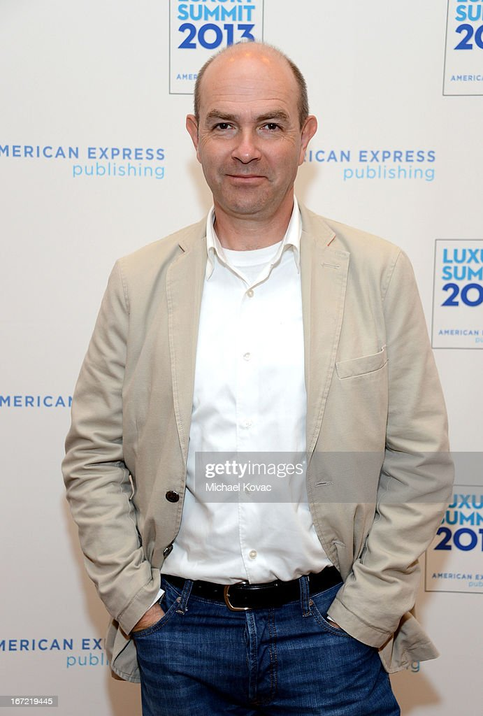 Chris Anderson, Author, CEO, 3DRobotics, attends The American Express Publishing Luxury Summit 2013 at St. Regis Monarch Beach Resort on April 22, 2013 in Dana Point, California.