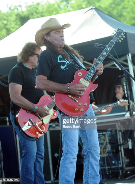 Chris Anderson of The Outlaws performs at the 8th Annual Rock Ribs Ridges Festival at Sussex County Fairgrounds on June 25 2017 in Augusta New Jersey