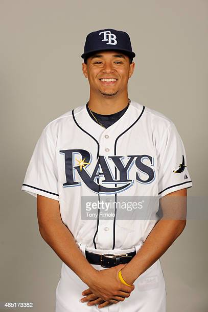 Chris Archer of the Tampa Bay Rays poses during Photo Day on Friday February 27 2015 at Charlotte Sports Park in Port Charlotte Florida