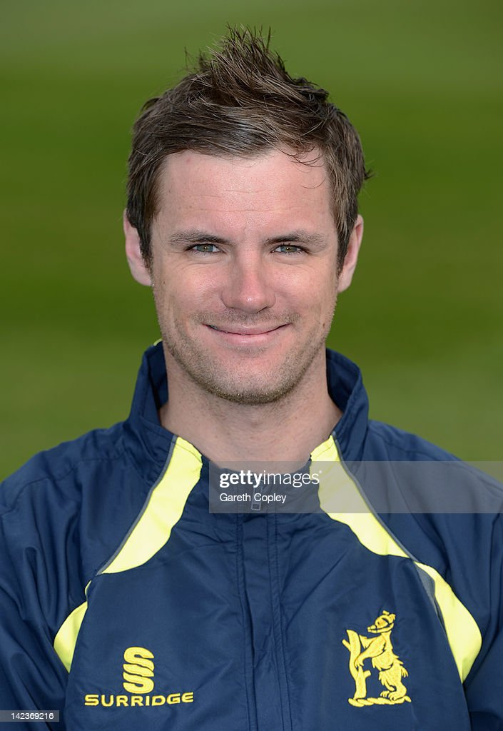 <a gi-track='captionPersonalityLinkClicked' href=/galleries/search?phrase=Chris+Armstrong&family=editorial&specificpeople=661189 ng-click='$event.stopPropagation()'>Chris Armstrong</a> during Warwickshire CCC photocall at Edgbaston on April 3, 2012 in Birmingham, England.