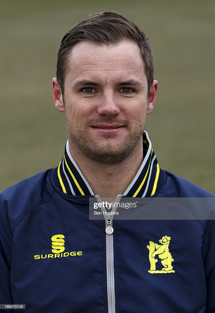 <a gi-track='captionPersonalityLinkClicked' href=/galleries/search?phrase=Chris+Armstrong&family=editorial&specificpeople=661189 ng-click='$event.stopPropagation()'>Chris Armstrong</a> poses for a portrait during a Warwickshire CCC Photocall at Edgbaston on April 04, 2013 in Birmingham, England.